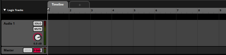 FMOD Studio Timeline
