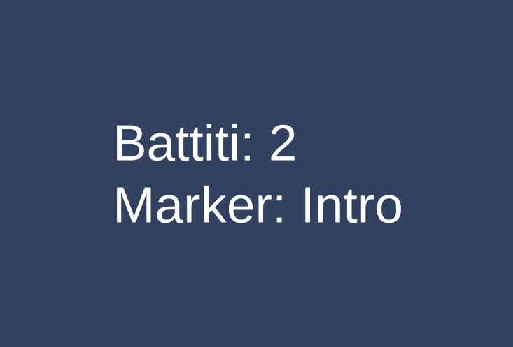 Informazioni sui battiti e marker visualizzati in Unity