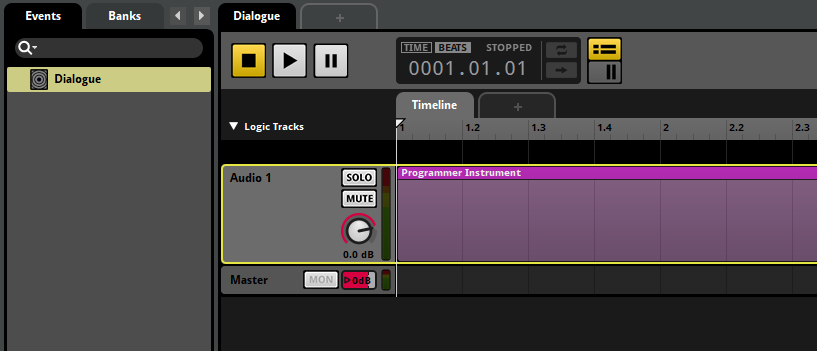 FMOD Studio Programmer Instrument