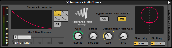 Door Knock Resonance Audio Source effect