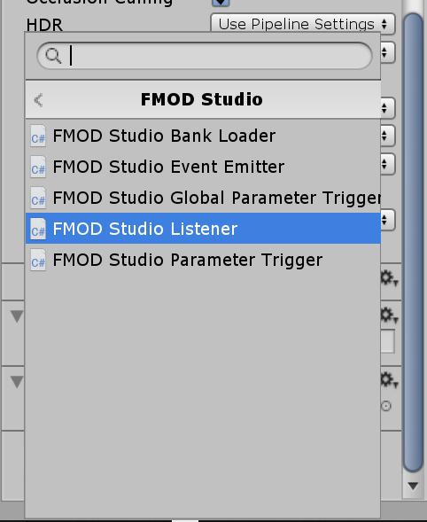 FMOD Studio Listener Component