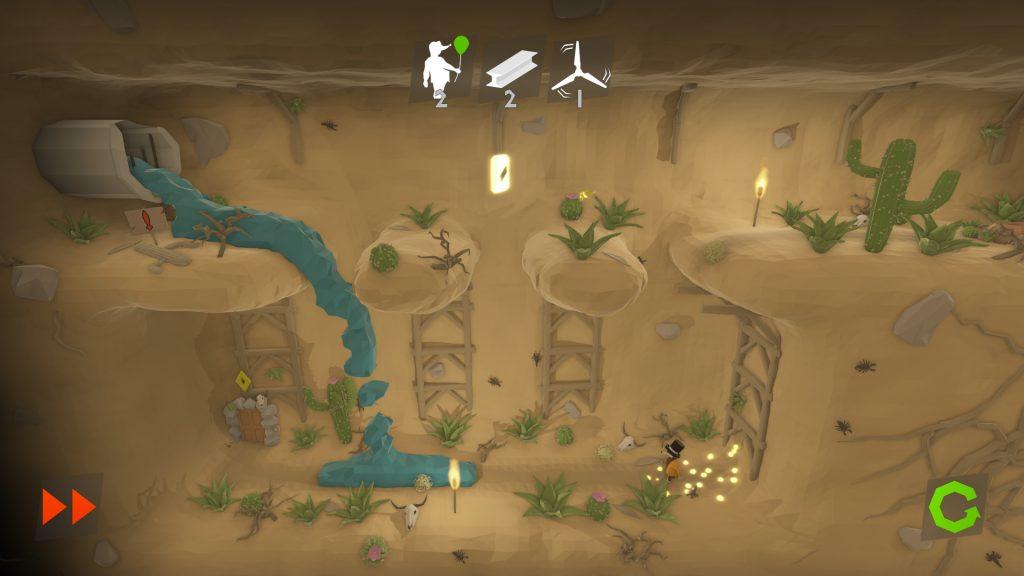 Poly Mole Screenshot