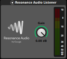 Resonance Audio Listener in FMOD Studio