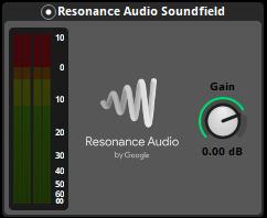 Resonance Audio Soundfield effect in FMOD
