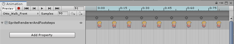 Unity Animation Clip