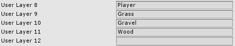 Unity Layers