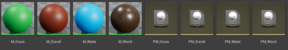 Materials and Physical Materials in Unreal Engine 4