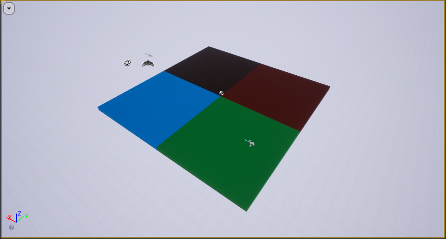 Simple Level in Unreal Engine 4