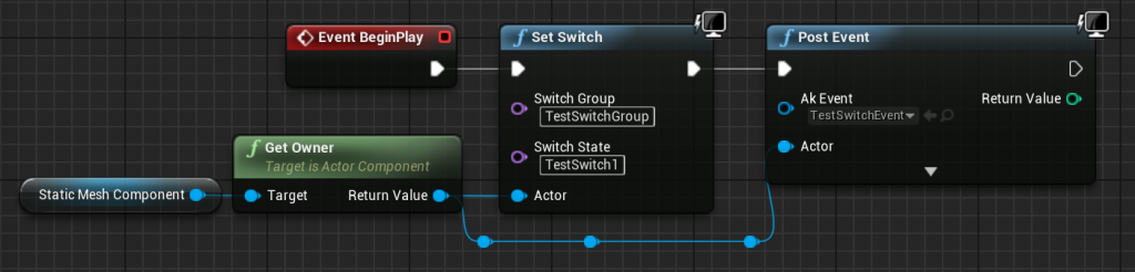 Set Switch node in Unreal Engine 4